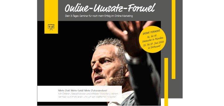 Dirk Kreuters Online Umsatz Formel Seminar