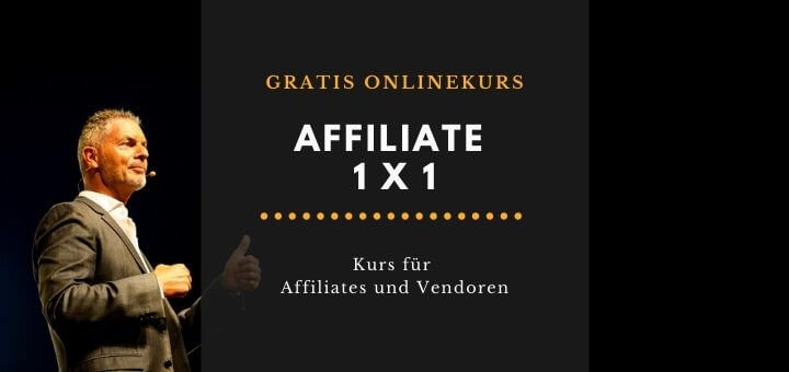 Affiliate Marketing gratis Onlinekurs