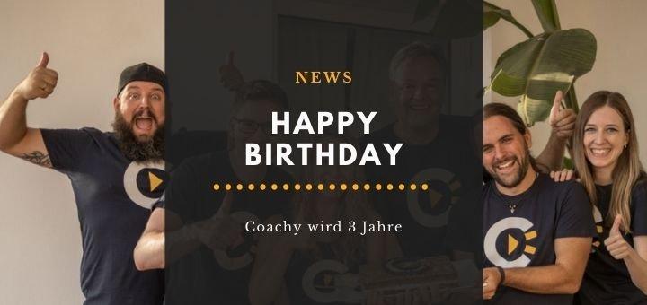 Coachy Geburtstagsaktion online kurs erstellen
