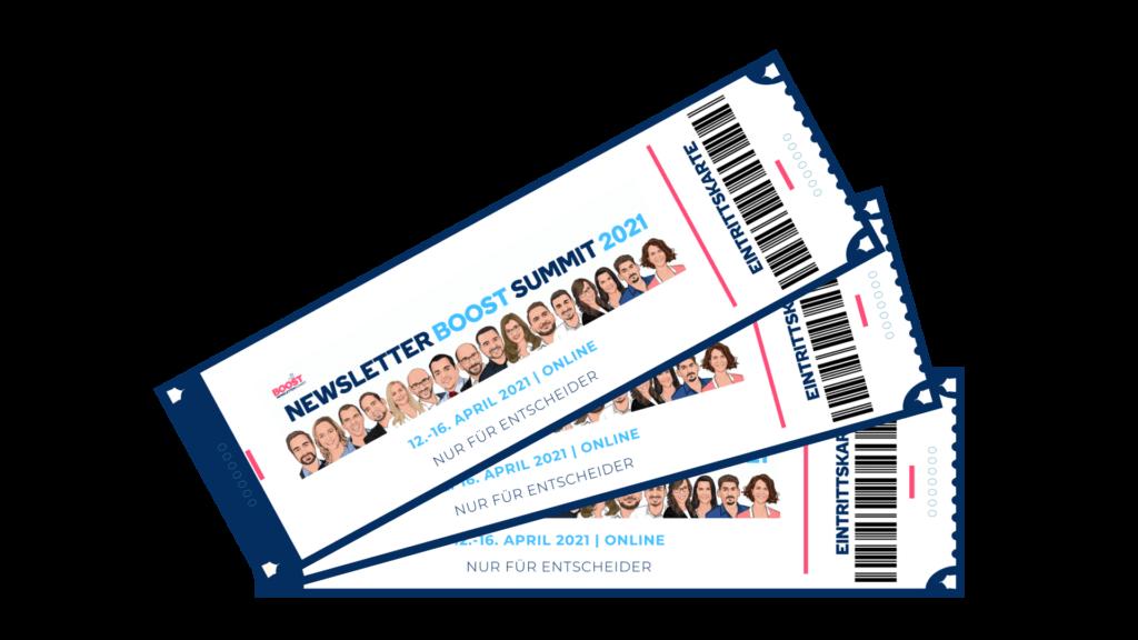 NBS21 Newsletter Boost Summit Tickets 2021